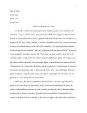 essay on shiloh by bobbie ann mason