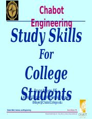 Study_Skills_for_Chabot_College_Students_141115(1)