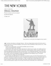 small change why the revolution won t be tweeted analysis