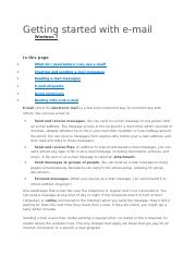 Getting started with email.docx