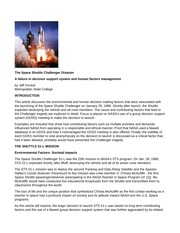 CASE STUDY_The space shuttle disaster