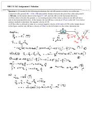 MECE 362 Assignment 1 Solution