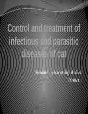 Control and treatment of infectious and parasitic diseases.pptx