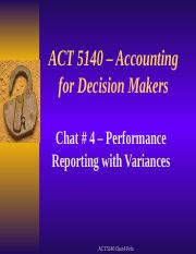 ACT 5140 Winter 2 2016 Chat 4 slides
