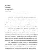Protein Synthesis Essay The  Essays About Science also Persuasive Essay Thesis Examples Anju Bobby Georgeessay Example Of Position Paper Essays Examples  Essay On High School