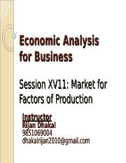 Session17-Market for Factors of Production.ppt