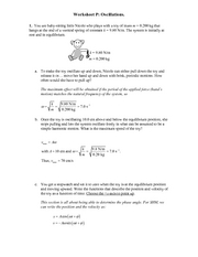 Recitation Worksheet P Solutions