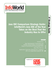 InfoWorld's Java IDE Comparison Strategy Guide