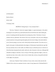 DROPBOX Writing Project 1 Story Analysis Draft 1-Submit Your Essay Here
