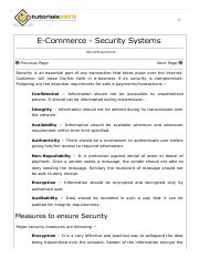E-Commerce Security Systems.pdf