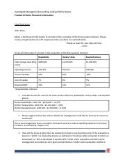 Product Division Financial Information1.docx