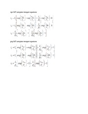 Equations to be Provided_Exam 2