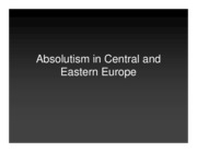 2 Absolutism in Central and Eastern Europe (compressed