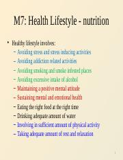 M6 Healthy lifestyle - nutrition.pptx