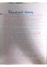 EDN 200 Educational History Notes