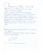 Chemistry Notes 9