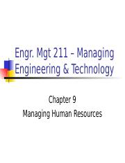 ch9 Managing Human Resource .ppt