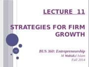lecture_11_-_strategies_for_firm_growth