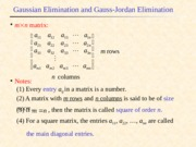 Gaussian Elimination.ppt