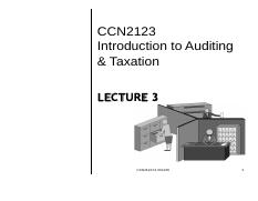 CCN2123_lect 3 Property tax
