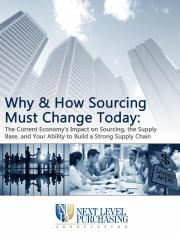 why and how sourcing must change-survey
