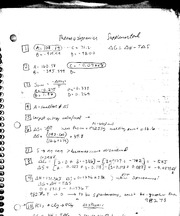 Supplemental problems and solutions for thermodynamics, acid base and chemical equilibrium