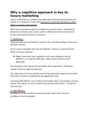 Why a cognitive approach is key to luxury marketing.docx