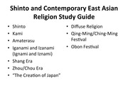10-Shinto and Contemporary East Asian Religion