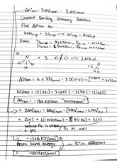 CHEM 121 Fall 2014 Enthalpy Examples Solutions