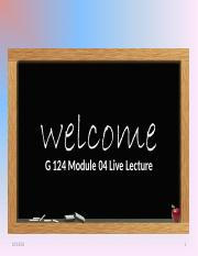 bb module a 4 rough draft live lecture webex.ppt