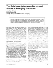 P67_Relationship between Bonds and Stocks in Emerging Market