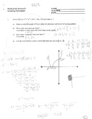 M328 - Quiz Chapter 4A PART 2 with Answers