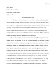 child essay flower