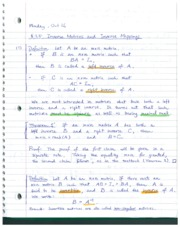 Section 3.5 notes