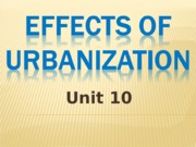 Effects of Urbanization.ppt