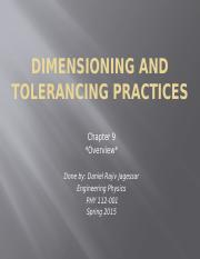 Dimensioning and tolerancing practices.pptx