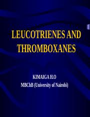 27. LEUCOTRIENES AND THROMBOXANES.pptx