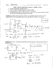 EK307Exam2SOLUTIONSFa09