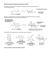 Notes on Glucose