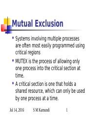 6.0 Mutual Exclusion.ppt