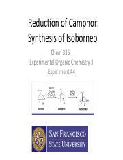 Experimental Organic Chemistry Pdf