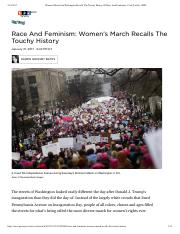 Women's March On Washington Recalls The... Race And Feminism - Code Switch - NPR copy.pdf