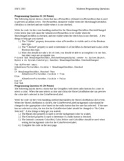 ISYS3393_Midterm_Programming_Questions_And_Answers