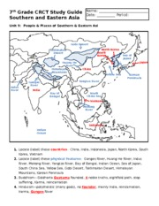 7th-Grade-CRCT-Study-Guide-Southern-and-Eastern-Asia-Answer-Key-1n066q6