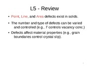8-Defects in Solids II