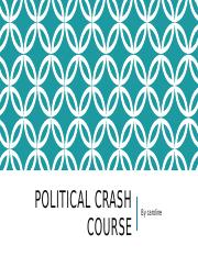 Political crash course