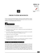 29_Fresh water Resources