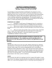 Case Brief #1 Assignment Document SP17