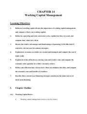 Chapter 7 Working Capital Management (Doc)-2