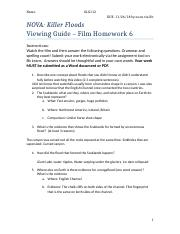 HW6-NOVA Killer Floods Watching Guide (1).docx
